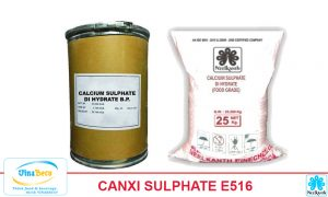 CANXI SULPHATE DEHYDRATE E516