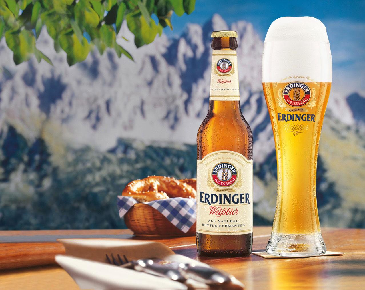 bia đức Erdinger Weissbeir