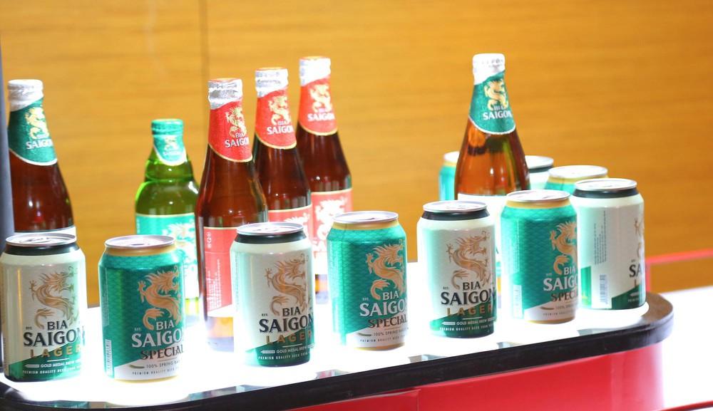 Mỗi ngày Sabeco thu về hơn 100 tỉ đồng từ bán bia rượu